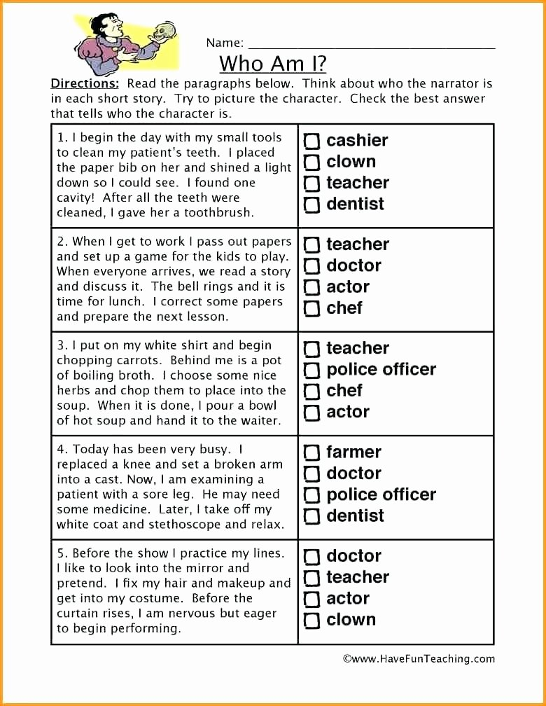 Making Inferences Worksheets 4th Grade Inference Worksheets 3rd Grade Free