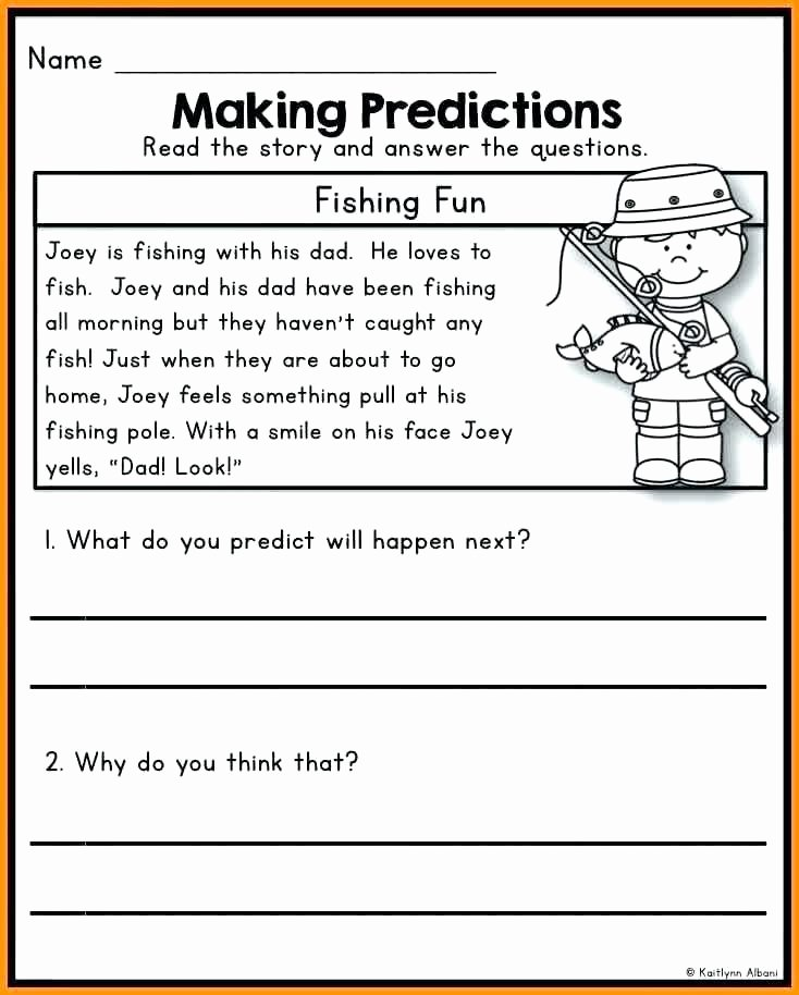 Making Predictions In Reading Worksheets Making Predictions Worksheets 2nd Grade – Papakambing