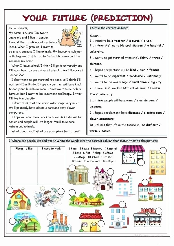Making Predictions In Reading Worksheets Predicting Out Es Worksheets for Grade 5 Passages and