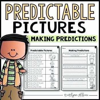 Making Predictions In Reading Worksheets Prediction Worksheets for 5th Grade Making Predictions