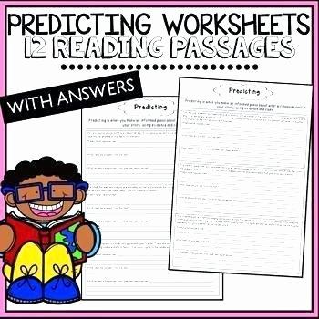 Making Predictions Worksheet 2nd Grade Prediction Worksheets for First Grade Living Nonliving Cc