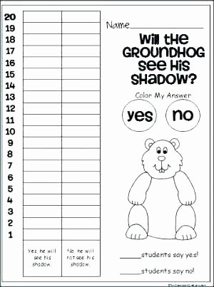 Making Predictions Worksheets 2nd Grade Groundhog Day Math Activities for Predicting Out Es