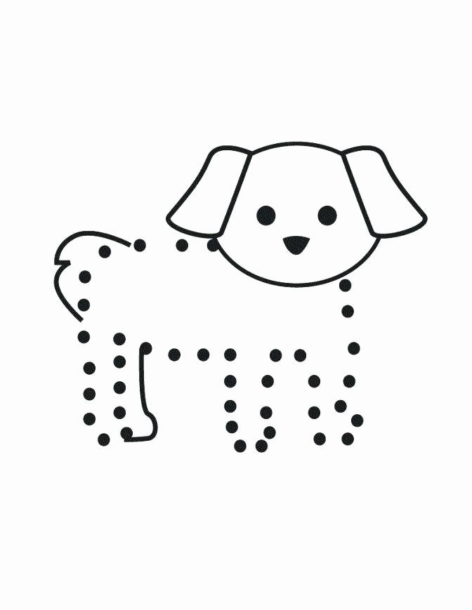 Mammal Worksheets for Kindergarten Easy Connect the Dots – Papakambing