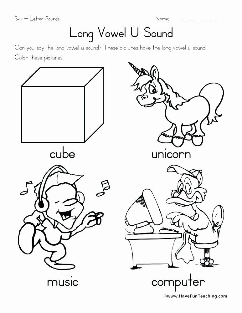 Mammal Worksheets for Kindergarten Learning Letter sounds Worksheets
