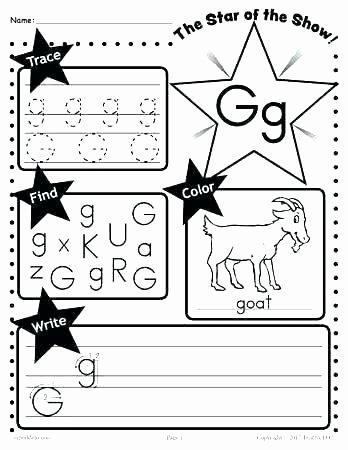 Mammal Worksheets for Kindergarten Letter G Worksheets for Kindergarten Preschool Trace M and