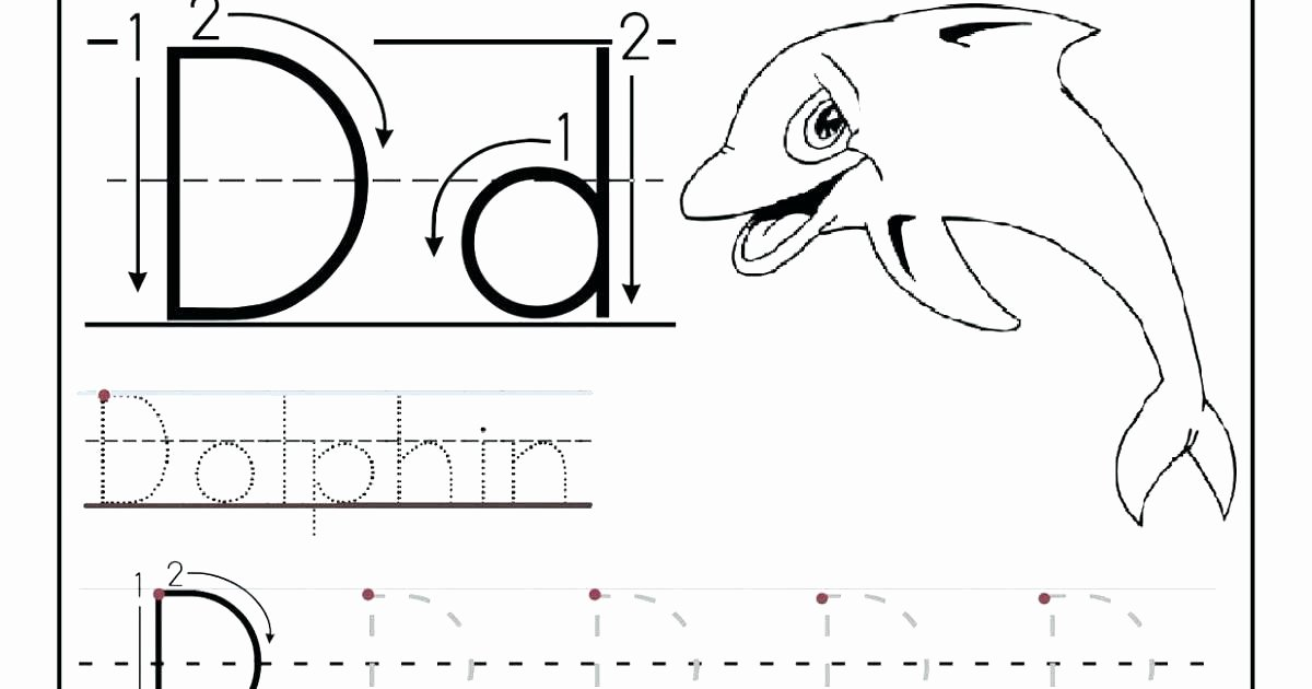 Mammal Worksheets for Kindergarten Preschool Alphabet Worksheets Free Printables