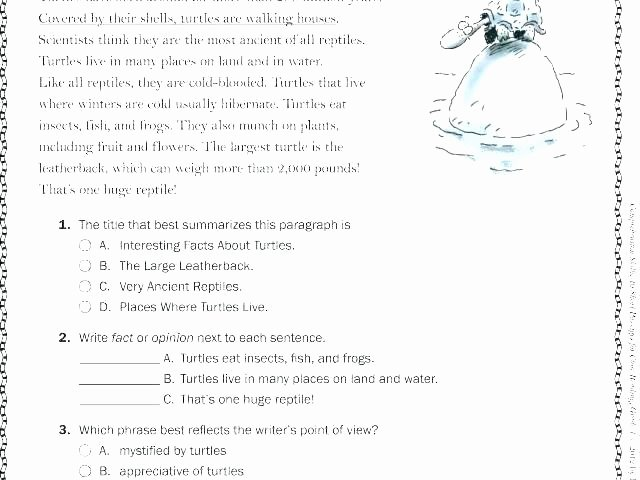 Mammals Worksheets for 2nd Grade Fact and Opinion Worksheets Nonfiction Text Features
