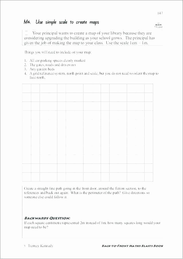 Map Grid Worksheets Luxury Grade Graphing Worksheets Bar Graph Fraction Line Plot 5th Math