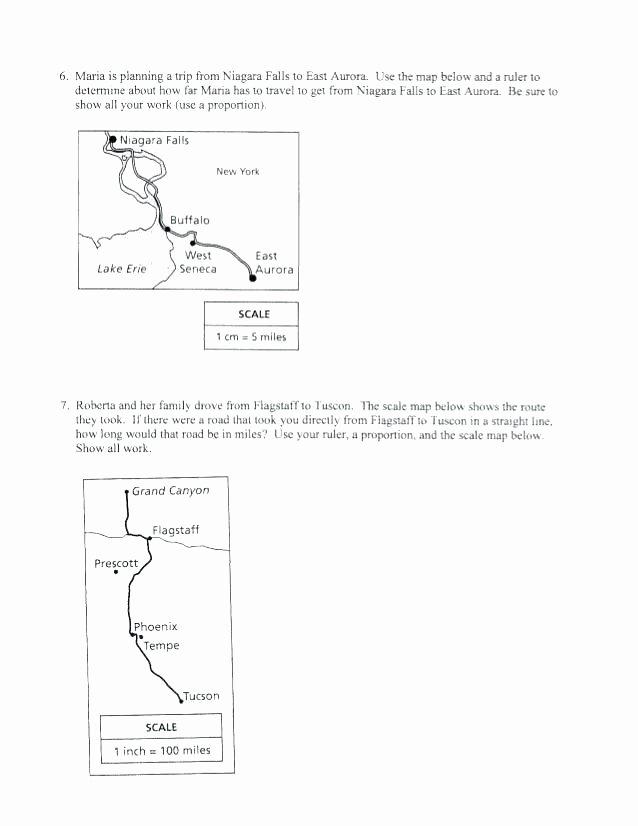Map Scale Worksheet 3rd Grade Map Scales Worksheets – Primalvape