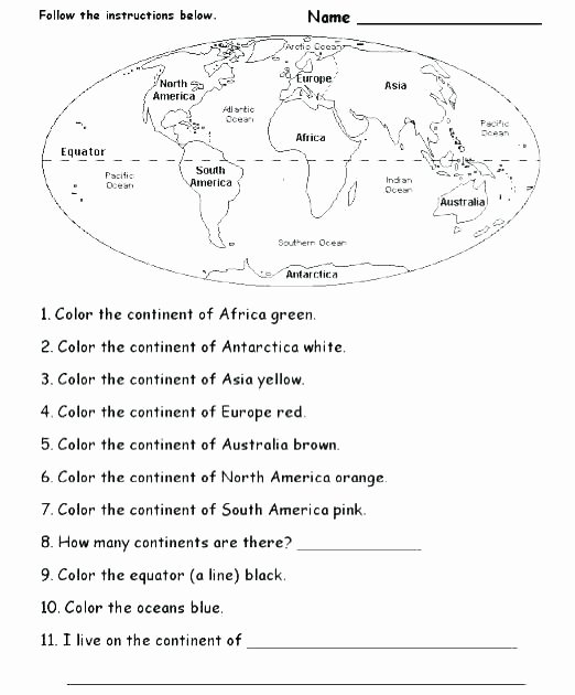 Map Scale Worksheet 4th Grade Map Worksheets for Kids