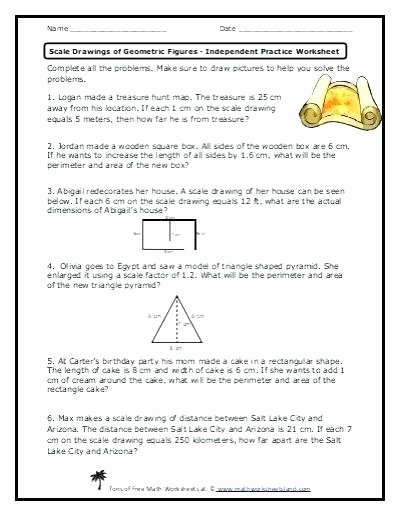 Map Scale Worksheet 4th Grade Me On the Map Worksheets
