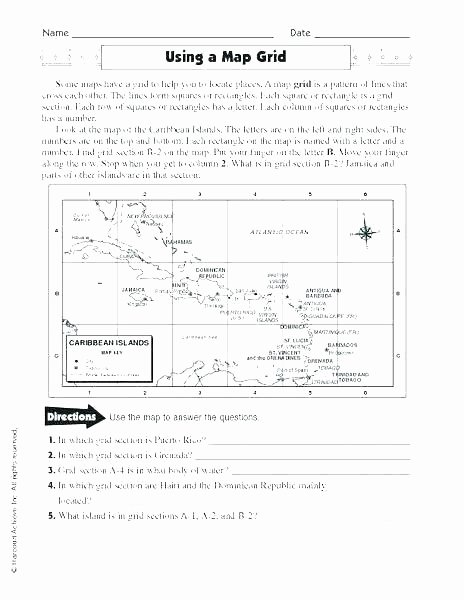Map Scale Worksheet 4th Grade Weather Map Worksheets 4th Grade
