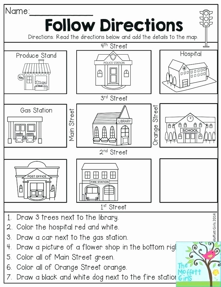 Map Skill Worksheets 2nd Grade Math Practice – Papakambing