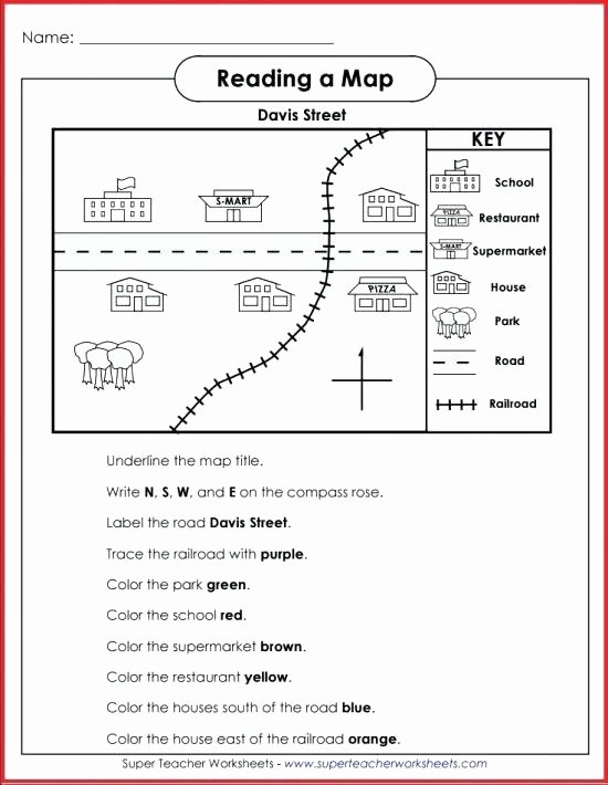 Map Skill Worksheets Maps and Globes Worksheets for Kids Google Search Grade K