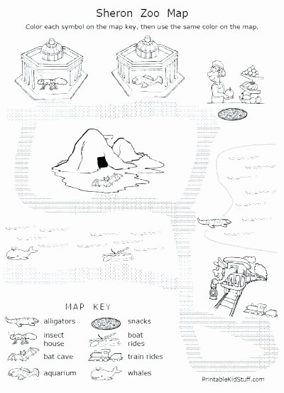 Map Skills Worksheets Answers Free Printable Map Skills Worksheets for First Grade