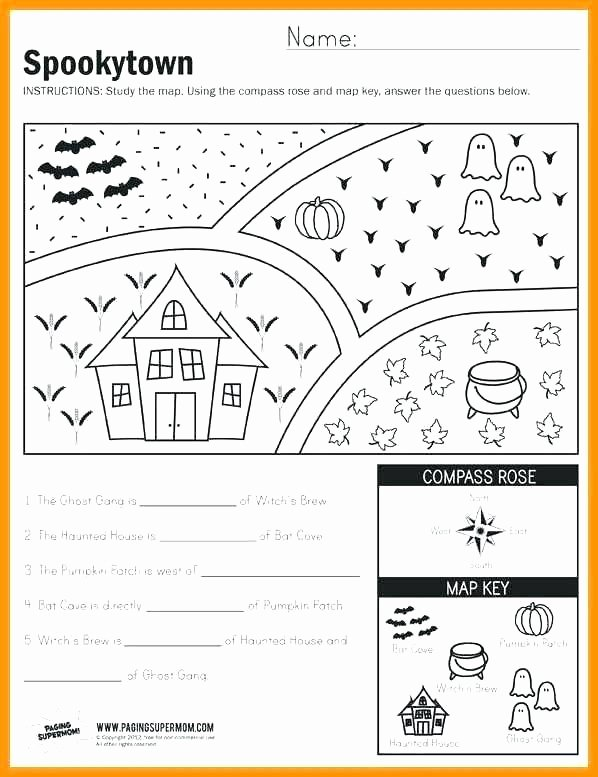 Map Skills Worksheets Middle School Map Geography Skills Grade social Stu S Geography Map