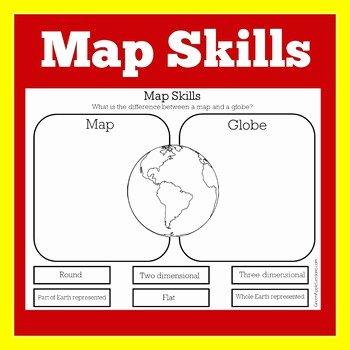Map Skills Worksheets Middle School Map Skills Worksheet