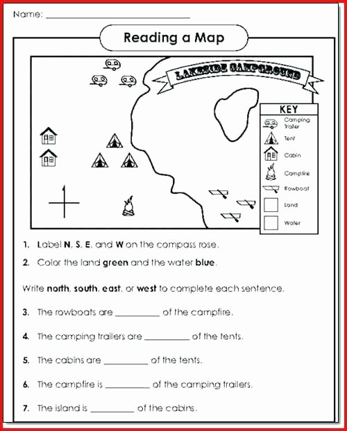 Map Skills Worksheets Pdf Magical attic Road Trip Printable Ap Human Geography Scoring