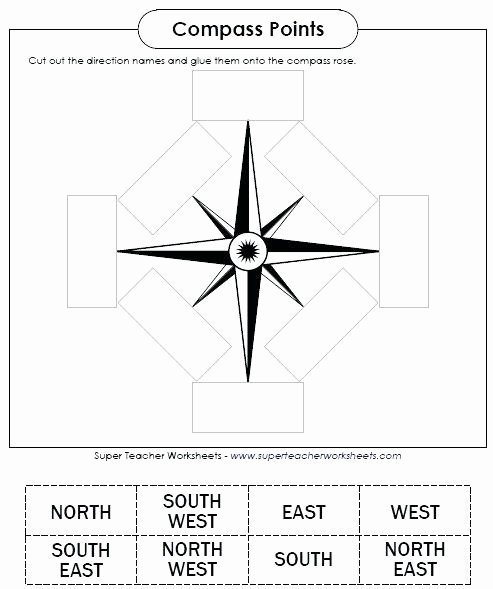 Map Skills Worksheets Pdf Map Skills Worksheets Free Printable for 4th Grade