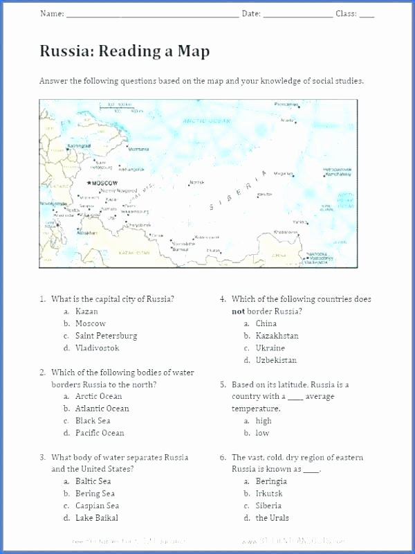Map Skills Worksheets Pdf Map Worksheets Pdf