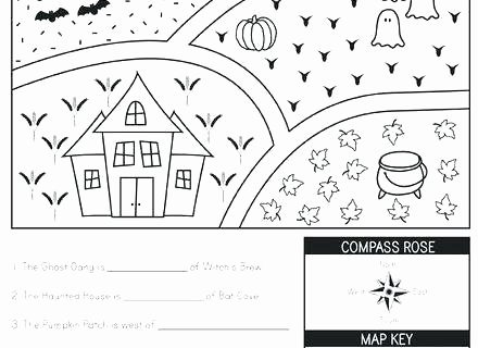 Map Worksheet 2nd Grade social Stu S Geography Worksheets Second Grade Map