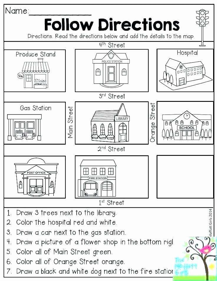 Map Worksheets 2nd Grade Grade 4 social Stu S Worksheets Ontario
