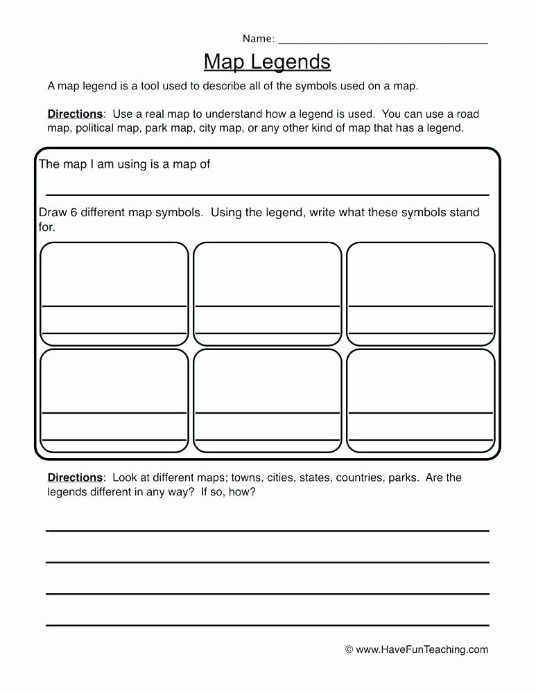 Map Worksheets 2nd Grade World Map Worksheet for Second Grade Printable Geography