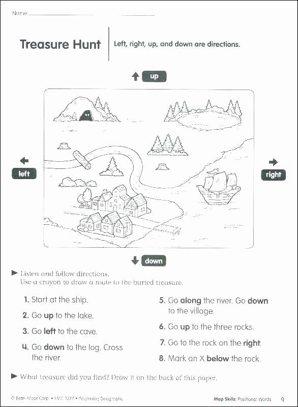 Maps Worksheets 2nd Grade Printable social Stu S Worksheets Rd Grade China Free Map