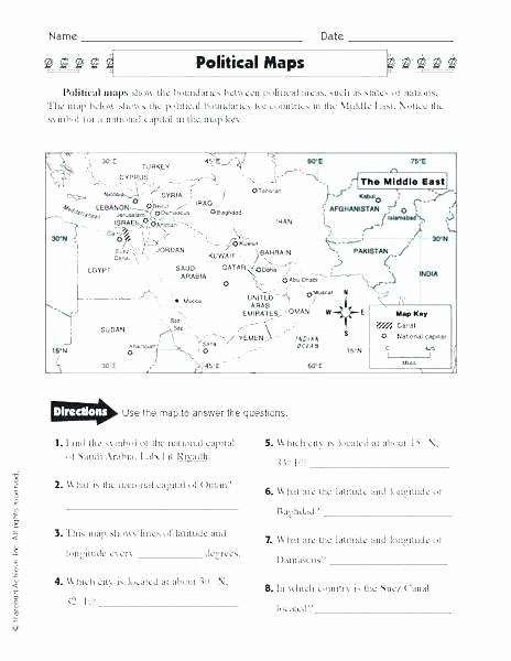 Maps Worksheets 2nd Grade Weather Map Practice Worksheet Free Worksheets for
