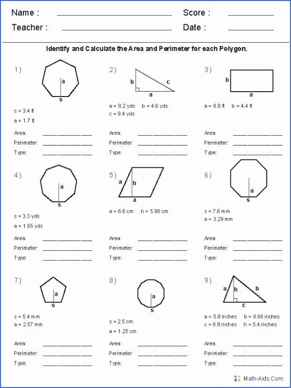 Math Aids Compound Shapes Luxury Perimeter Of Polygons Worksheet – Espace Verandas
