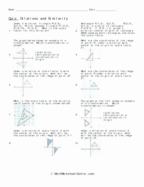 Math Aids Reflections and Parallel Lines Independent Practice Worksheet Math
