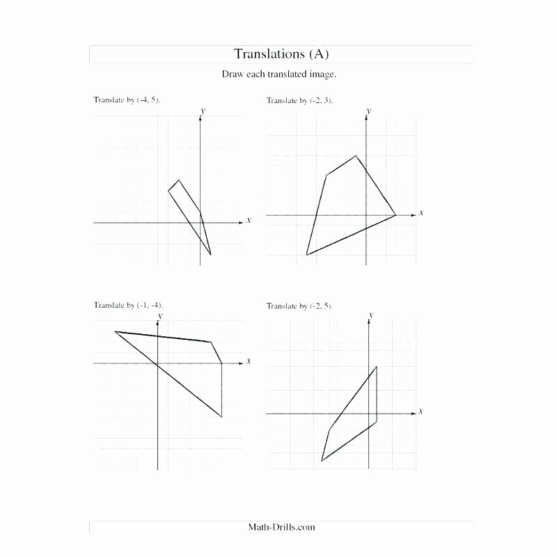 Math Aids Translations Answers Elegant Maths Translation Worksheet – Espace Verandas