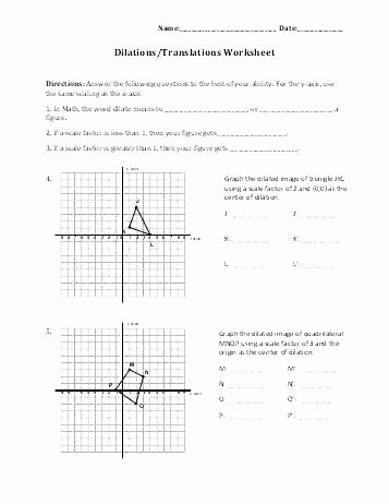 Math Aids Translations Answers Unique Algebra 2 New Coordinate Plane Worksheets Beautiful Math