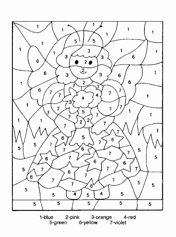 Math Coloring Pages 2nd Grade Beautiful Color by Number Grade Addition Coloring Sheets Worksheets
