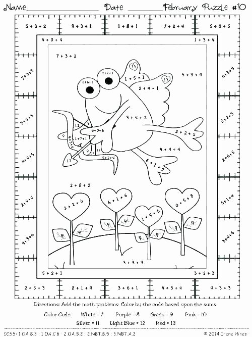 Math Coloring Worksheets 2nd Grade Inspirational Fall Math Worksheets