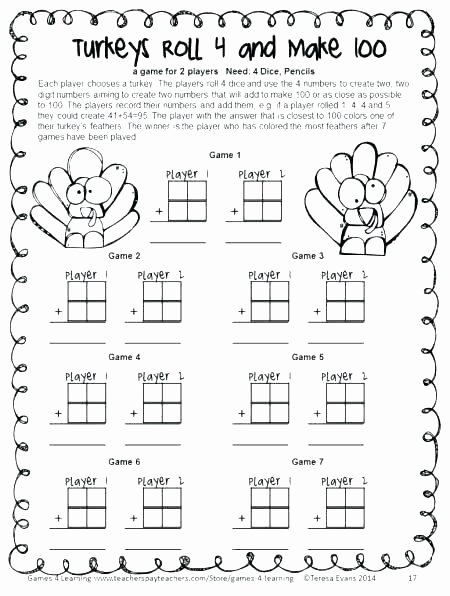 Math Coloring Worksheets 2nd Grade Luxury Thanksgiving Math Coloring Worksheets Grade Free Sheets for