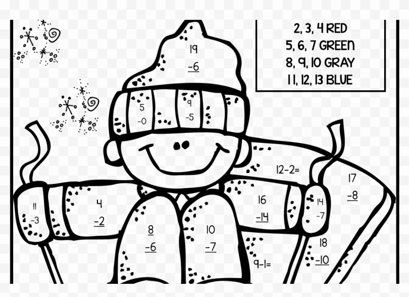 Math Coloring Worksheets 2nd Grade New 2nd Grade Math Coloring Pages Printable Free Sheets for