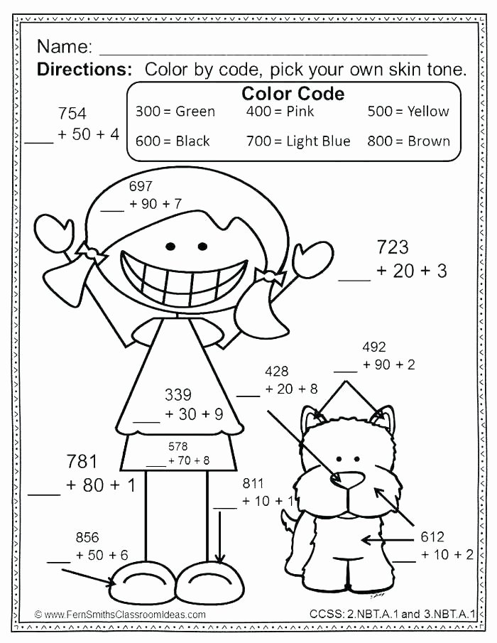 Math Coloring Worksheets 3rd Grade Best Of Free Math Coloring Worksheets 3rd Grade