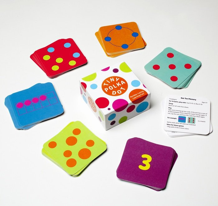 Math Dot to Dot Worksheets Tiny Polka Dot — the Colorful Math Game for Young Kids by