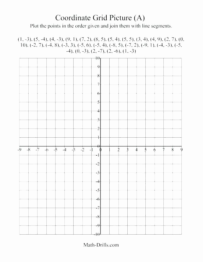 Math Drills Graph Paper Inspirational Graph Paper Math Coordinate Aids Free with Axes – Uniplatz