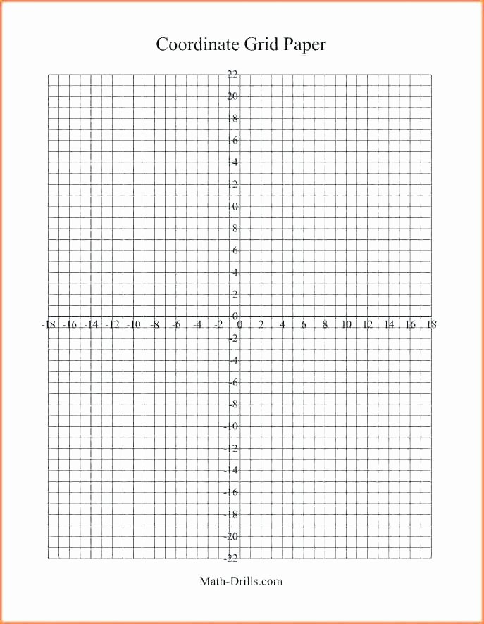 Math Drills Graph Paper New Blank Word Find Template Coordinate Grid Math Graph Paper