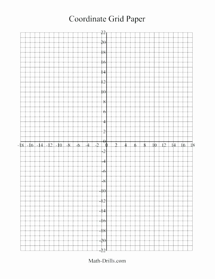 Math Drills Graph Paper New H Paper Printable Math Blank Grid Pdf Graph Template Other