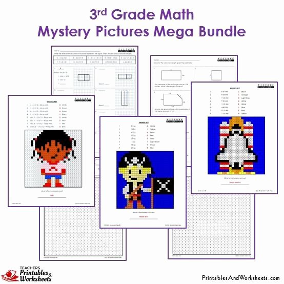 Math Hidden Picture Worksheets Unique Free Mystery Picture Math Worksheets 1000 Images About