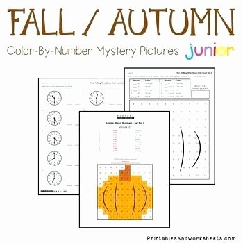 Math Mystery Picture Worksheets Fun Math Fall Telling Time Mystery Picture Coloring
