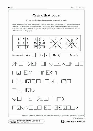 Math Secret Code Worksheets Code Breaking Worksheets Code Breaking Worksheets Basic Code