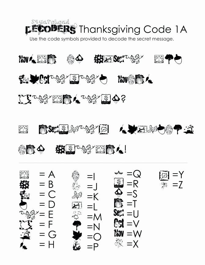 Math Secret Code Worksheets Crack the Code Worksheets Printable