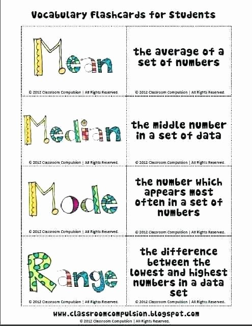 Mean Median Mode Worksheets Pdf Mean Median Mode Here Home the Range and to