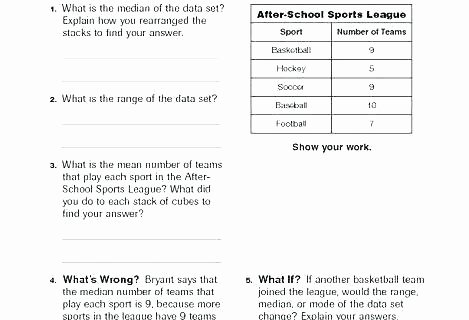 Mean Mode Median Worksheets Mean Median and Mode Worksheet Range Worksheets Pdf