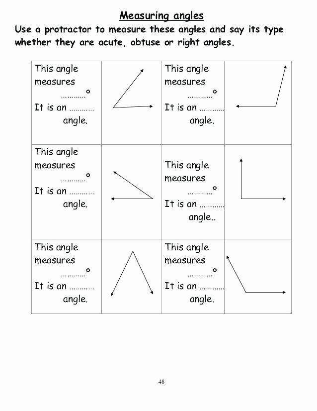 Measurement Capacity Worksheets Geometry and Measurement Worksheets