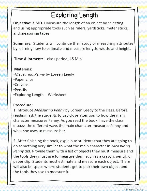 Measurement Estimation Worksheets Second Grade Math Worksheets Centimeters Science for All